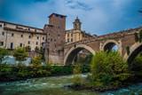 CAETANI CASTEL AND FABRICIO BRIDGE IN ROME