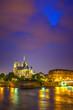 Notre Dame de Paris at night, France