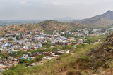 View of Amber village. Rajasthan. India