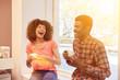 canvas print picture - Multikulturelles Team in Start-Up Business
