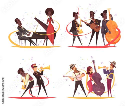 Jazz Musicians Design Concept