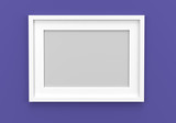 picture frame empty template