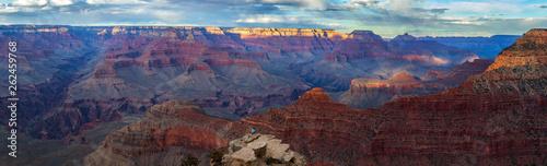 Sunset at Grand Canyon National Park, South Rim, Arizona, USA - 262459768