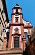 canvas print picture - Pfarrkirche Retzbach, Unterfranken