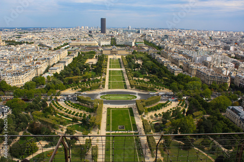 fototapeta na ścianę View of Paris from the Eiffel Tower