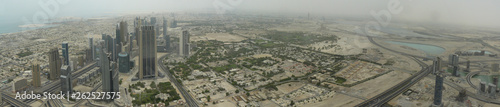 Dubai. Panoramic photo. United arab emirates - 262527575