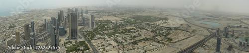 Dubai. Panoramic photo. United arab emirates - 262527575