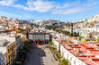 Las-Palmas Gran Canaria, Spain, on January 8, 2018. A view of the central part of the city and the cathedral square from the survey platform  - 262528322