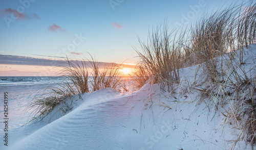 canvas print picture sonnenaufgang am meer