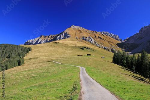 canvas print picture Alpen, Adelboden, Schweiz