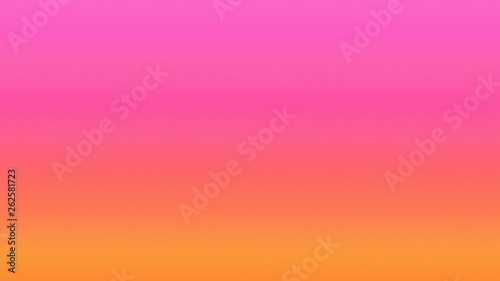Pink sky gradient background bright,  gradation. - 262581723