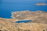 Panoramic view of Serifos island, Greece