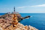 Leuchtturm am Cap de Cala Figuera auf Mallorca