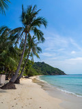 Beautiful pictures of sandy beaches on Koh Phangan. Thailand - 262732549