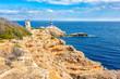 Quadro Cap de Cala Figuera und Faro de Cala Figuera auf Mallorca