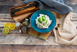 Italian chicken and mushroom risotto
