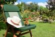 canvas print picture - Garten 903