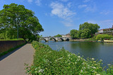 Thames Path at Richmond Bridge