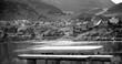canvas print picture - Prokosko lake Bosna und Hercegowina