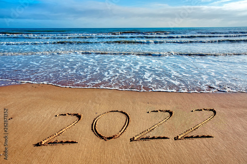 canvas print picture 2022 happy new year