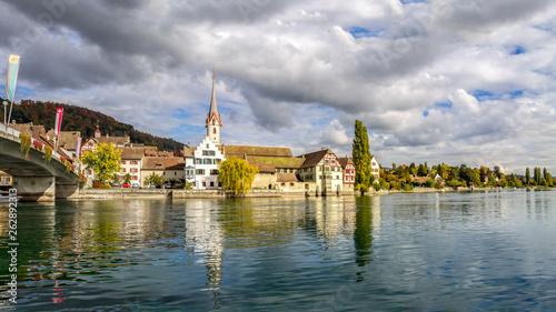 Blick auf Stein am Rhein  - 262892313