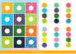 Match the parts. Educational children game. Matching game for kids.
