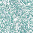 paisley seamless pattern. damask vector background - 262953136