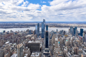 New York city, USA, urban skyline