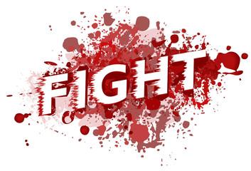 fight vector screen design