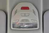 SOS button on the car panel. Luxury car interior