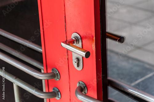 Eingangsbereich Bauhaus Dessau © Stockfotos-MG