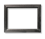 dark wooden picture frame