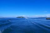 青い空と海、Blue sky and sea