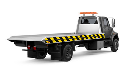Tow Truck Isolated