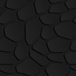Illustration of 3D seamless black stone wall or floor elegant pattern background. minimal and realistic style. Vecto - 263408374