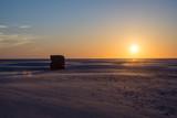 Wattenmeer Nordsee Amrum Abenddämmerung