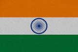 India fabric flag