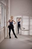 Dancer practicing