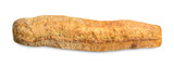 Hand made fresh baked baguette isolated