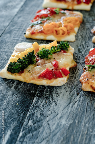 canvas print picture Mini Pizza Serie