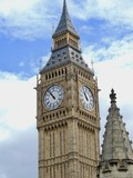 big ben tower of english parliament