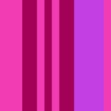 Three-coloured vertical stripes consisting of the colours hot pink, magenta. multicolor background pattern can be used for fabric textiles, postcards, websites or wallpaper.