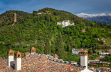 Panoramic view on Alhambra, Spain