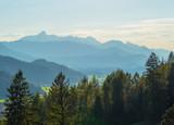 Alpen im Abendlicht