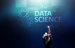 Data science and deep learning. Artificial intelligence, Analysis. Internet and modern technology concept.