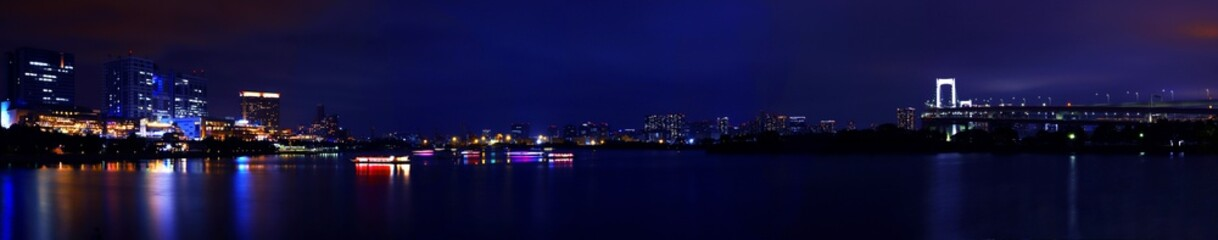 【東京の夜景】夜のお台場