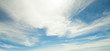 Blue sky clouds background. Beautiful landscape with clouds on sky - 263705997