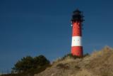 schöner Leuchtturm in Hörnum auf der Nordsee Insel Sylt