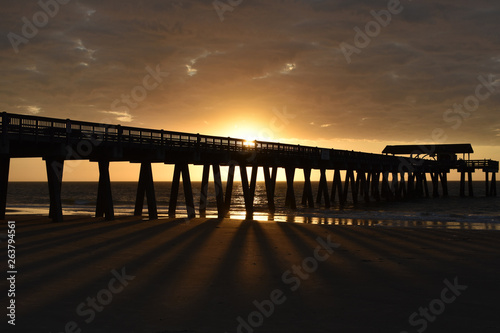 Sunrise Peir Beach © Brandy