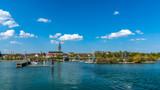 Sommer Urlaub am Bodensee Radolfzell Hafeneinfahrt 16:9